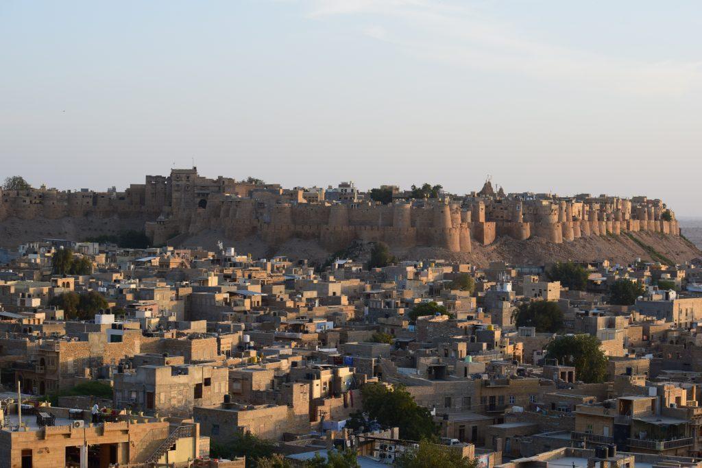 Jaisalmer City View 02 1024x683 - INDIE: Radżastan i wycieczka na Goa