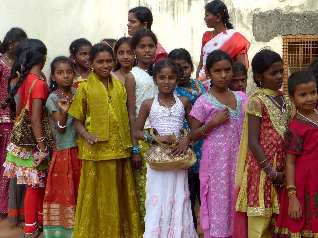 Kids of South India 1024x768 - INDIE POŁUDNIOWE: Kerala i festiwal Theyyam - wycieczka