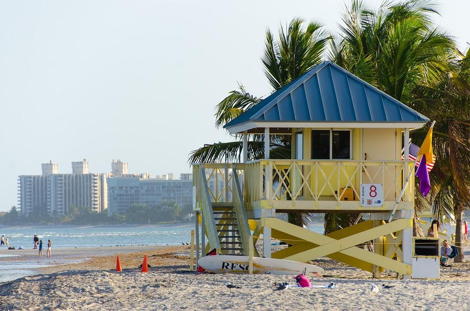 beach 1156977 960 720 1 - USA: Wschodnie Wybrzeże z Nowym Orleanem i Florydą