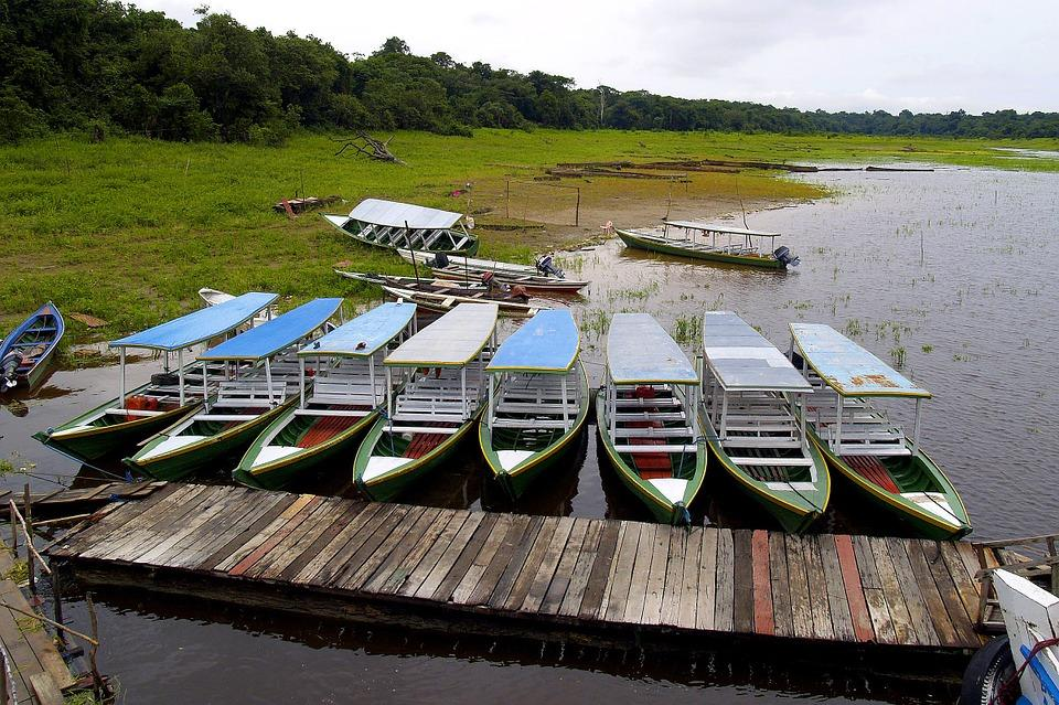 boats 51487 960 720 - BRAZYLIA z Amazonią, Foz do Iguazu i Pantanalem - wycieczka