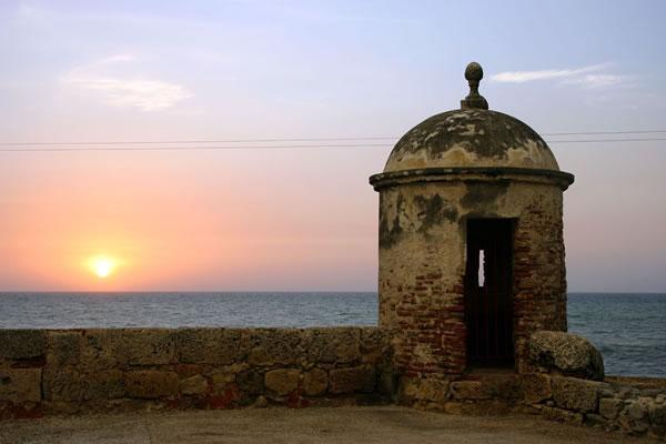 mury obronne - KOLUMBIA - Cano Cristales, Medelin, Cartagena i Wyspy Różańcowe