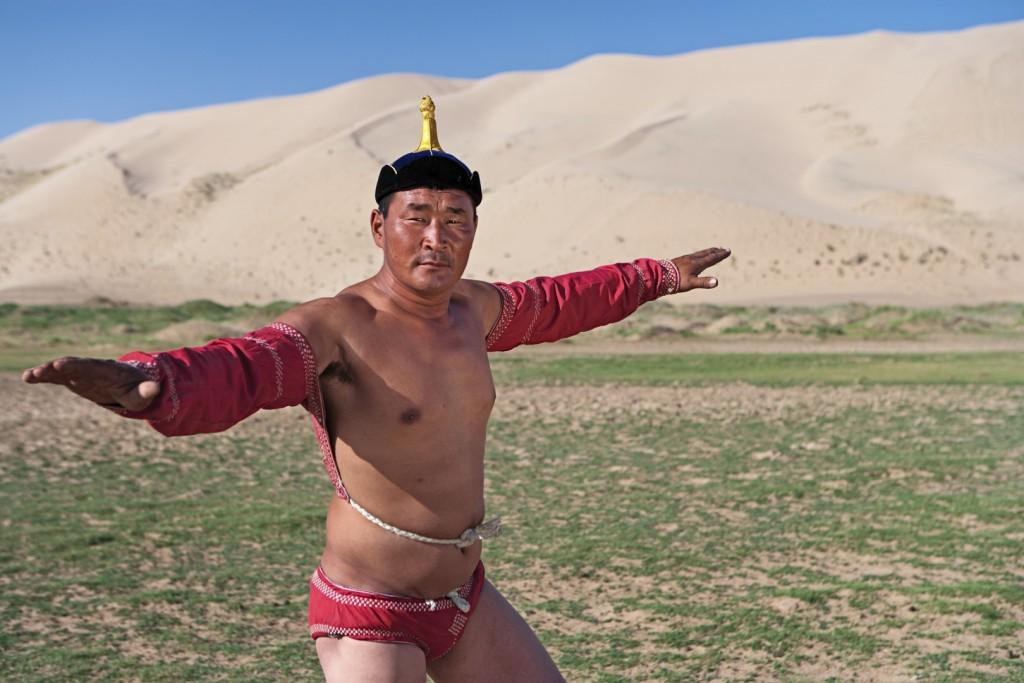 stock photo 14555831 mongolian wrestler 1024x683 - MONGOLIA – Największe atrakcje królestwa Czyngis-chana