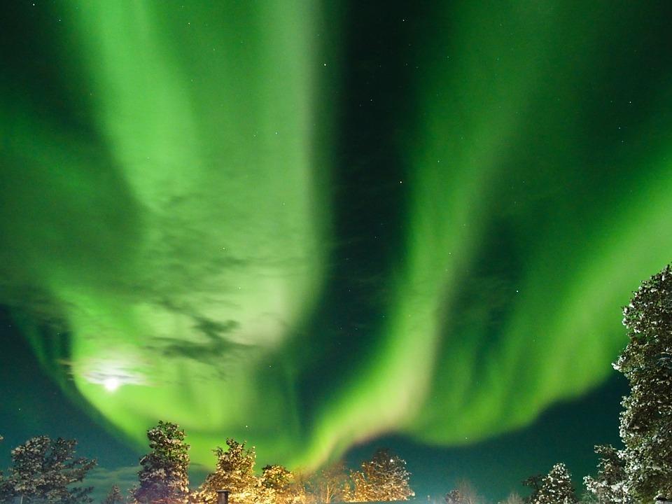 aurora borealis 2163329 960 720 - FINLANDIA: Helsinki, Laponia, zorza polarna i Święty Mikołaj - wycieczka
