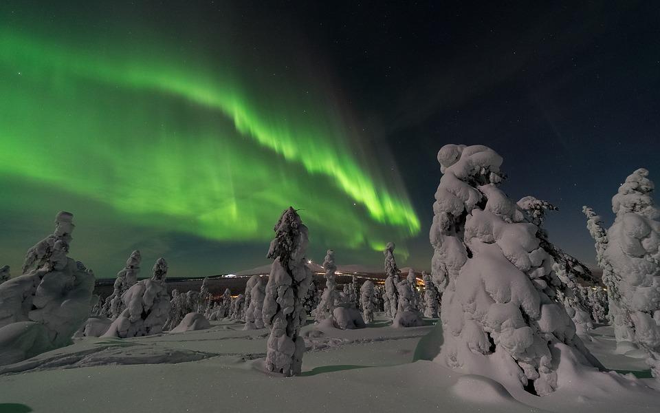 aurora borealis 2959663 960 720 - FINLANDIA: Helsinki, Laponia, zorza polarna i Święty Mikołaj - wycieczka