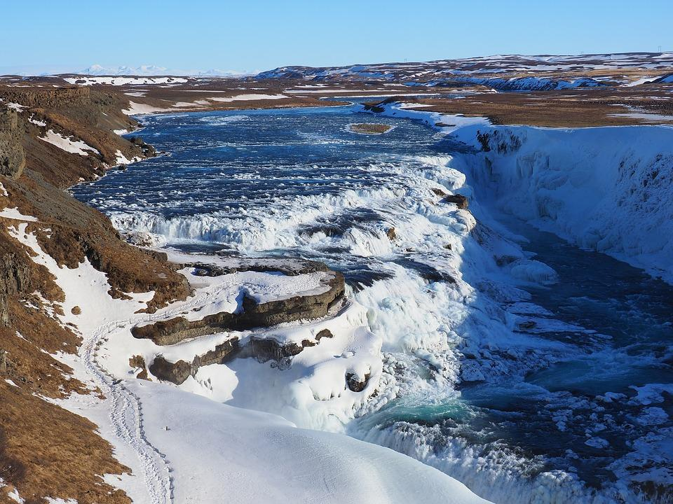 gullfoss 3241997 960 720 - ISLANDIA – zorza polarna, lodowce, gejzery i wodospady - wycieczka