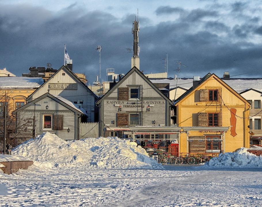 oulu 171445 960 720 - FINLANDIA: Helsinki, Laponia, zorza polarna i Święty Mikołaj - wycieczka
