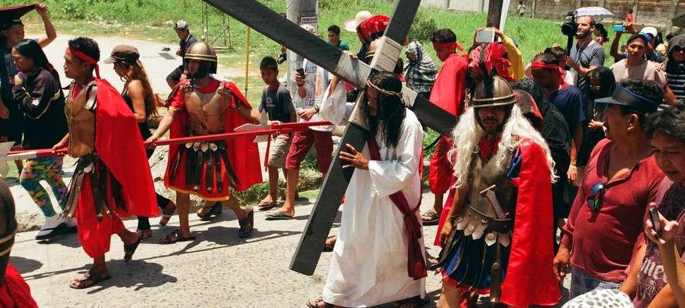 FILIPINY: Wielki Piątek w San Fernando Pampanga - wyprawa