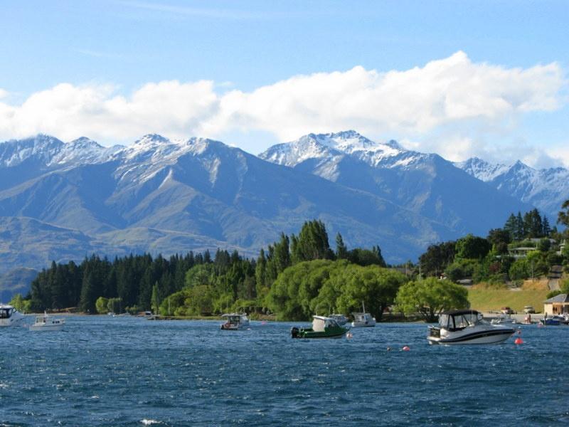 21. Jezioro Wanaka 1 - NOWA ZELANDIA – wyprawa na drugi koniec świata po przestrzeń i niekończąca się wolność + opcja FIDŻI i TONGA