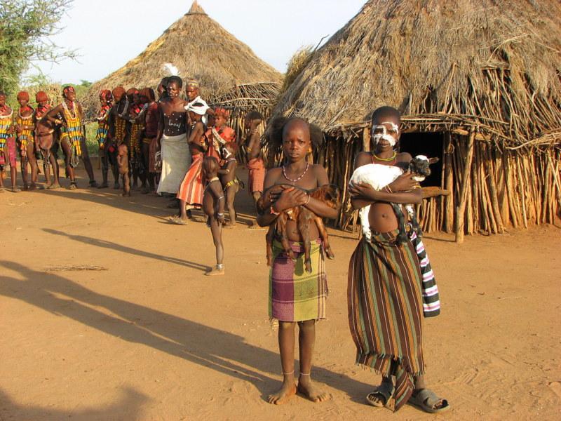 ETIOPIA 2. 381 - ETIOPIA: wyprawa na Północ i Południe