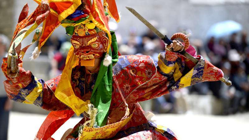 INDIE i BHUTAN: wyprawa na Festiwal dedykowanym żurawiom czarnoszyim
