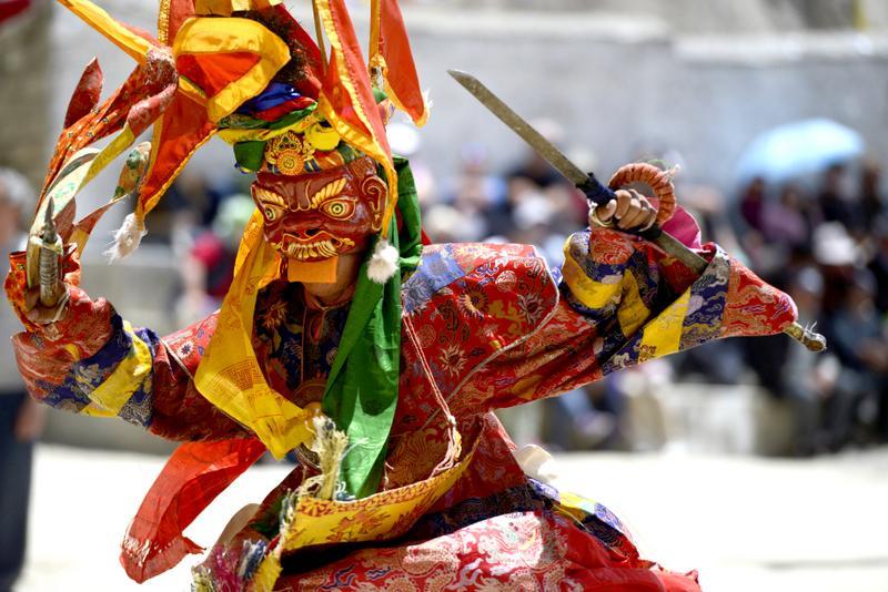 Mask Dance Ladakh - INDIE - Ladakh – Kaszmir: wyprawa na Festiwal Hemis Tsechu