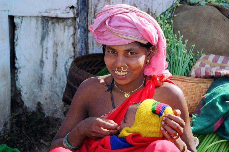 Tribal Lady 01 - INDIE: Orisa – Andamany – wyprawa niezwykła