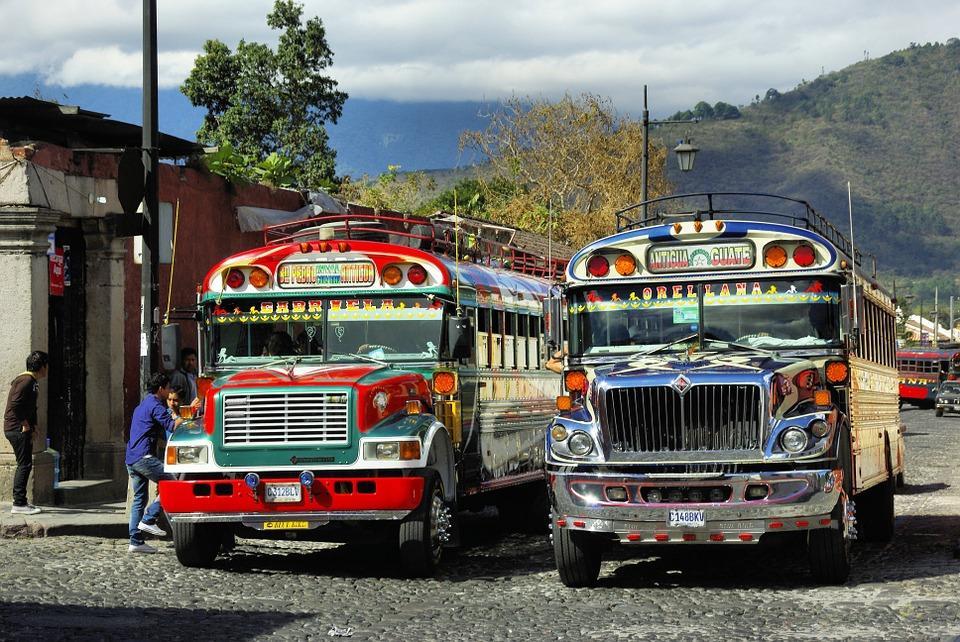 bus 776945 960 720 2 - BELIZE – GWATEMALA – HONDURAS –  SALWADOR