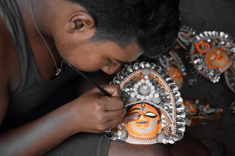 chau mask 2645077 960 720 - INDIE: Sikkim i Bengal Zachodni - wyprawa