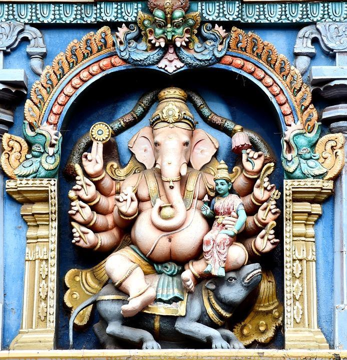 ganesha 1576096 960 720 - INDIE POŁUDNIOWE: Kerala i festiwal Theyyam - wycieczka