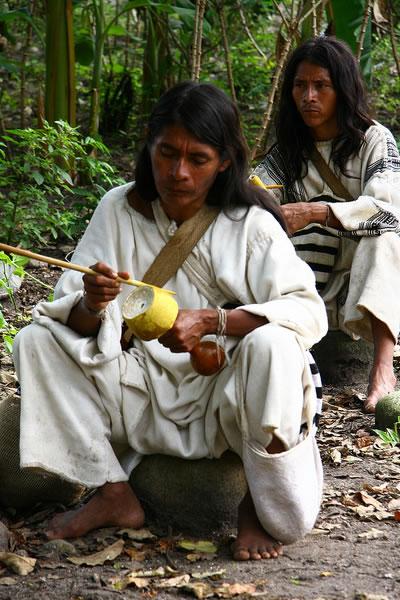 indianie arhuacos w parku tayrona - PANAMA – KOLUMBIA: wyprawa na Archipelag San Blas