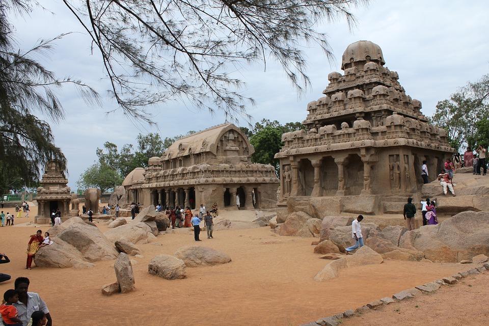 mahabalipuram 2779567 960 720 - INDIE POŁUDNIOWE: Kerala i festiwal Theyyam - wycieczka
