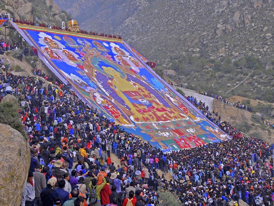 monastery 642683 960 720 - TYBET: niezwykła wyprawa na Festiwal Shoton