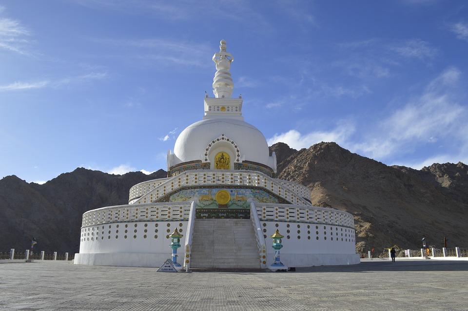 shanti stupa 756426 960 720 - INDIE - Ladakh – Kaszmir: wyprawa na Festiwal Hemis Tsechu