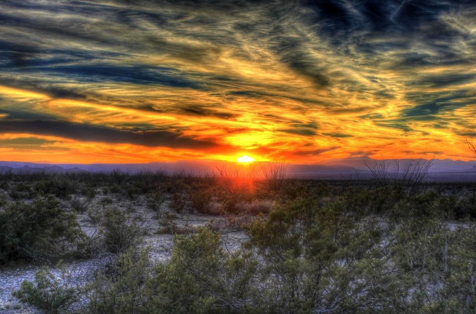 sunset 258930 960 720 - USA: Teksas, Nowy Meksyk i Arizona
