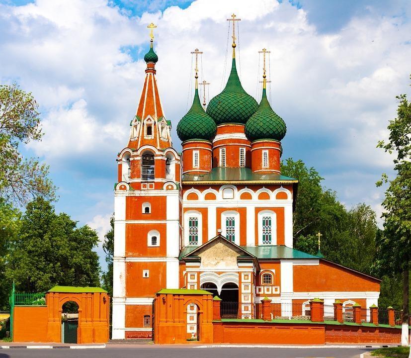 church 4242070 960 720 - ROSJA: od Moskwy do Petersburga – luksusowy rejs po Wołdze