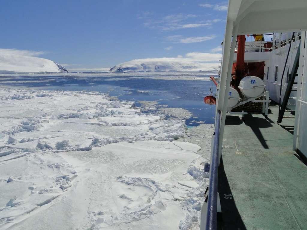 if the ship cant sail further due to pack ice hans murre oceanwide expeditions 1024x768 - ANTARKTYDA – PODRÓŻ PRZEZ TRZY KONTYNENTY: Rejs z Nowej Zelandii do Argentyny
