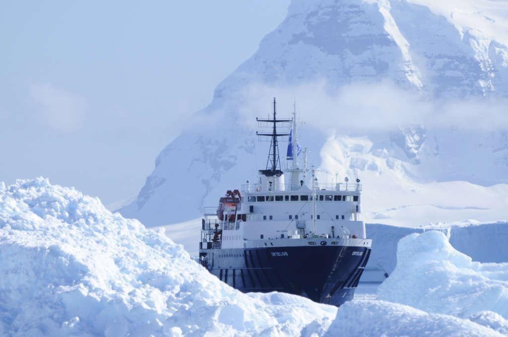 ortelius at cuverville antarctica january elke lindner oceanwide expeditions 1024x680 - ANTARKTYDA – PODRÓŻ PRZEZ TRZY KONTYNENTY: Rejs z Nowej Zelandii do Argentyny