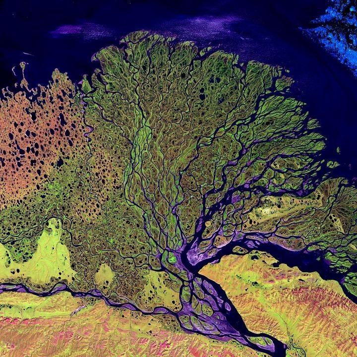 aerial view 11102 960 720 - ROSJA: rejs rzeką Lena