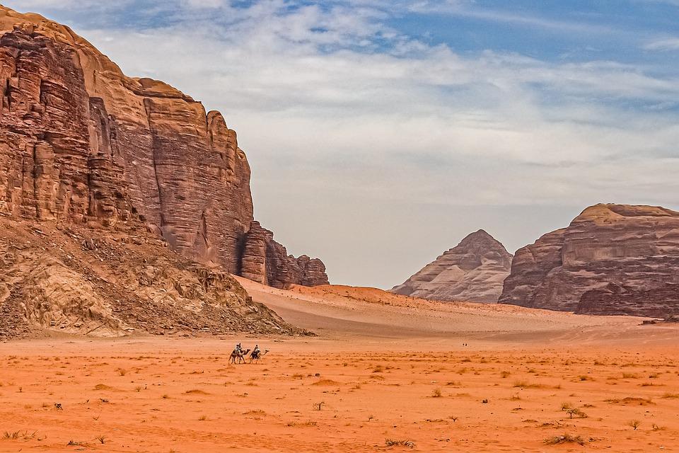 desert 4823861 960 720 - JORDANIA: zwiedzanie + wypoczynek nad Morzem Martwym i Morzem Czerwonym