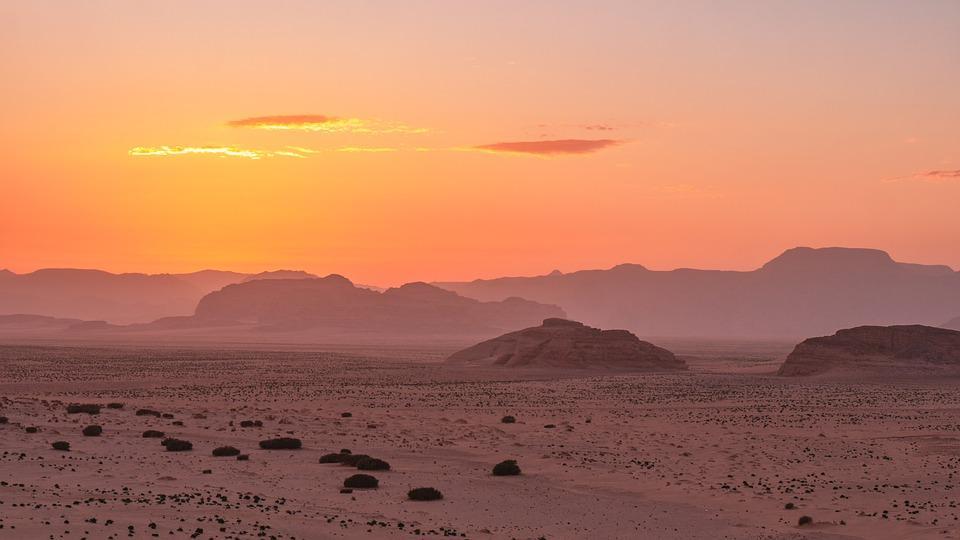 desert 4954346 960 720 - JORDANIA: zwiedzanie + wypoczynek nad Morzem Martwym i Morzem Czerwonym