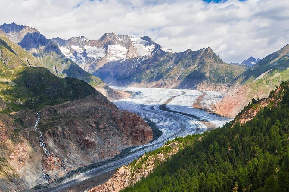 aletsch glacier 2591631 960 720 - SZWAJCARIA