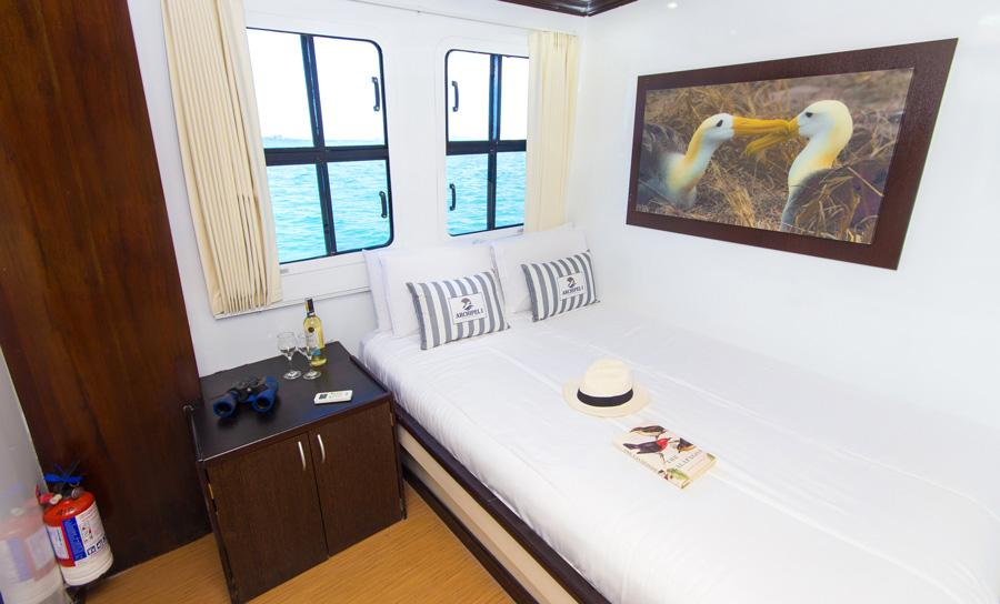 archipel2 cabin1 - EKWADOR i rejs po GALAPAGOS