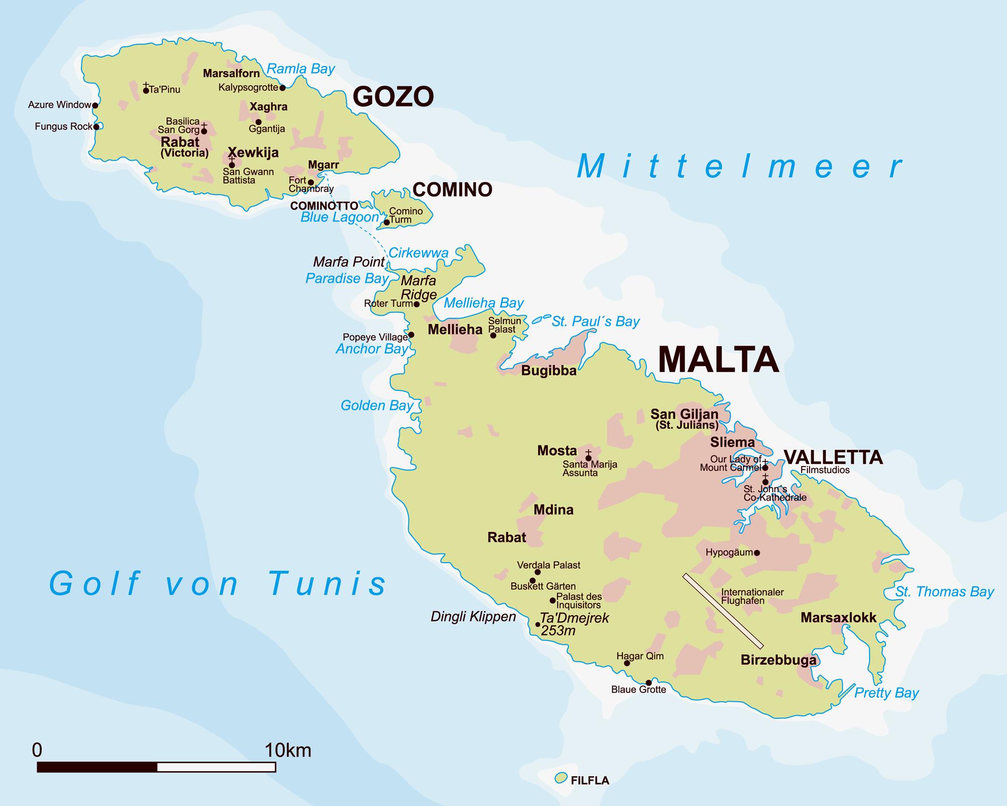Malta Gozo Comino - MALTA i GOZO